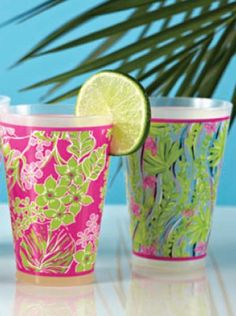 Lilly Pulitzer / Lifeguard Press Tumblers