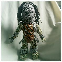 Pattern for Predator Doll
