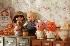 Vintage children's dolls
