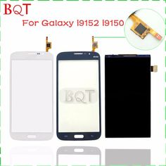 308.00$  Buy now - http://alivcz.worldwells.pw/go.php?t=1938283764 - Replacement i9510 Touch Screen for Samsung Galaxy Mega Duos 5.8 I9150 I9152 LCD Screen Touch Digitizer Glass Lens 308.00$