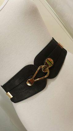 65a56ffa048 Wide Elastic Waist Belt – Elastic wide belt fits Australian size 8 - 16  with metalic