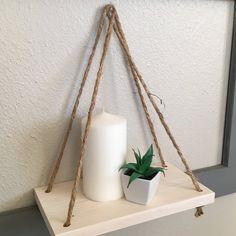 Wooden Rope Shelf | Jane