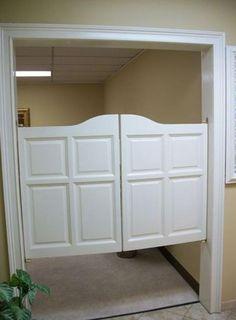 white shutter swinging saloon doors houzz for the lepley home 3