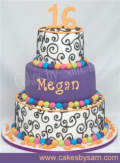 Sweet 16 Cakes Idea Pairs - Bing Images