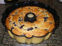 Cake Mix Recipes, Pound Cake Recipes, Cupcake Recipes, Dessert Recipes, Blueberry Bundt Cake Recipes, Blueberry Pancakes, Blueberry Cream Cake Recipe, Breakfast Bundt Cake, Cream Cheese Pound Cake