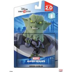 Disney Infinity: Marvel Super Heroes (2.0 Edition) Green Goblin Figure (Universal), Multicolor