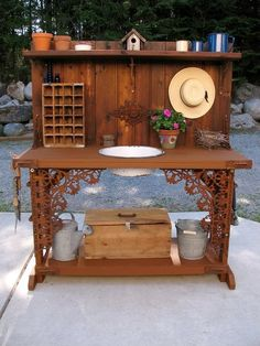 Potting Bench by Kirk Willis