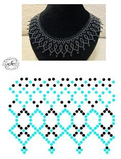 Pin on Schmuck Diy Necklace Patterns, Beaded Jewelry Patterns, Beading Patterns, Bead Jewellery, Seed Bead Jewelry, Jewelry Making Beads, Jewelry Necklaces, Bead Loom Bracelets, Beading Tutorials