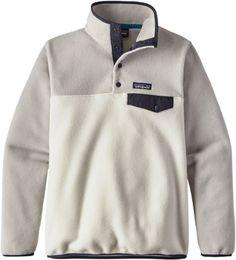 Patagonia Women's Lightweight Synchilla Snap-T Fleece Pullover Birch White XL