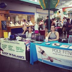 Representing at the West Maui Health and Fitness Expo!! Thank you to everyone who came and helped!! #bodybalancemaui #thepoleroommaui #mauifitnessexpo2016