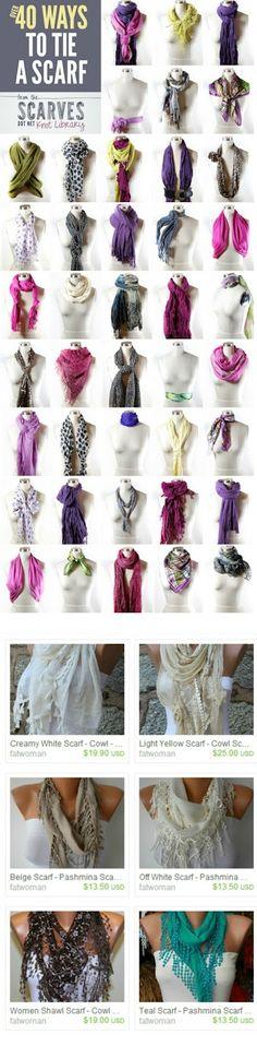 Hooray, scarf season :)