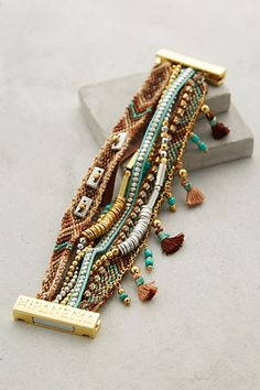 Etesian Layered Bracelet #anthropologie