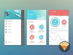 Free PSD UI kits 2016 - New Designs Every Month