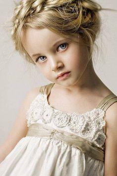 Kids Hairstyles   Milkmaid Braid Up-Do