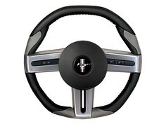 Grant Steering Wheel - Black/Red All) - Grant Steering Wheels 52103 2006 Ford Mustang, Black Mustang, Follow The Leader, Car Mods, Dream Cars, Revolution, Black And Grey, Gray, Black Leather