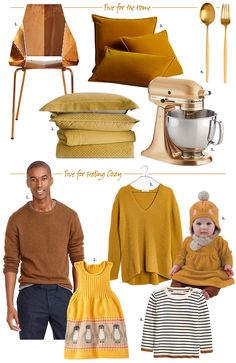 Everything I'm drawn to lately is in these warm yellow tones. Below is a mix of items on my wish list, along with favorites that I already own and would highly recommend. May it be useful for…