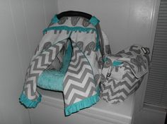 CUSTOM MADE Infant Car Seat Cover, Canopy, Tent and Diaper Bag - More Fabrics Leopard, Damask, Hello Kitty, Mossy Oak Camo on Etsy, $210.00