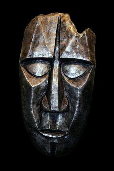 Tribal Cast Aluminum Mask