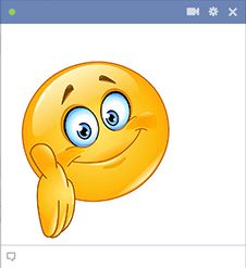 Share this friendly emoticon with your new pal. Smiley Emoji, Emoji Faces, Facebook Smileys, Emoji Symbols, My Emotions, Anime, Messages, Humor, Words