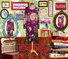 Maya Prass Scottish Dress, Hopscotch, Maya, Amethyst, Gallery Wall, Bloom, African, My Style, Fun