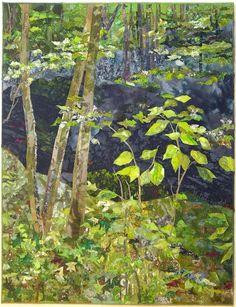 Art Quilts Landscapes | Quilts - Landscapes / Melody Randol - Other Art Quilts