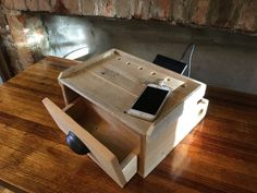 Charging/Docking Station from Recycled Pallets by PicketCreations