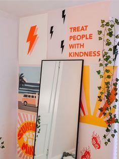 Cute Room Ideas, Cute Room Decor, Indie Room, Room Ideas Bedroom, Bedroom Decor, Bedroom Inspo, Room Goals, Aesthetic Room Decor, Retro Aesthetic