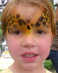 animal face paint - Google Search