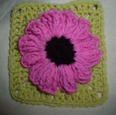 If you're looking for a way to free up space in your crafting room, try this Stash-Busting Sunflower Square. This crochet sunflower granny square requires a lot of yarn to give the flower petals a 3D look. This scrap yarn project is adorable.