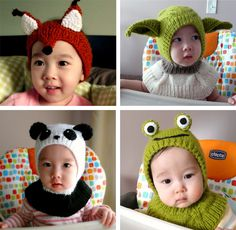 Funny coverall hats