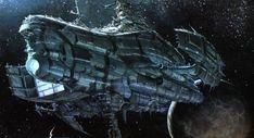 vaisseau de la BD La caste des Méta-barons : Othon le trisaïeul, dessin de Juan Gimenez