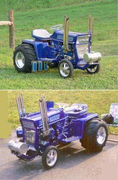 Garden Pulling Tractor & Mini-Rod Picture Gallery