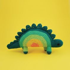 Amigurumipatterns.net has the biggest collection of Amigurumi patterns. Click and discover Horace The Stegosaurus!