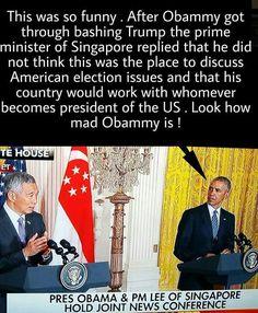 obamASS...always has been an embarrassment to America<<<<<Trump is even more of an embarrassment to America