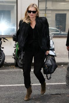 Kate Moss in December 2016