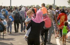 The refugee crisis has spilled into Europe.