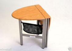 $149 Collapsible-Folding-RV-Motorhome-Coffee-Table-NEW-OAK
