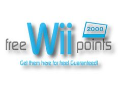 Free Nintendo Wii Points