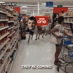 The fandoms are coming for you guys. (gif) THIS IS TOO FREAKIN FUNNY!!! XD XD XD