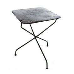 French Cafe Collapsible Iron Table