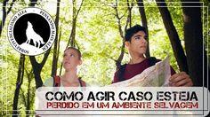 COMO AGIR CASO ESTEJA PERDIDO EM UMA MATA -  MANUAL DO SOBREVIVENTE EP. 1