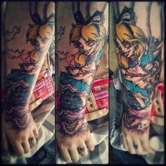 By Amanda Stiles @ Modify Tattoo & Piercing Morristown, TN 423.438.7333