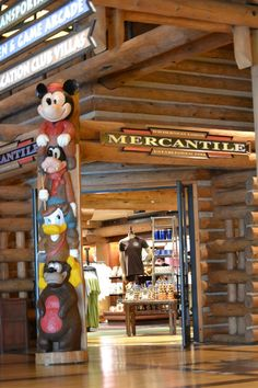 Wilderness Lodge store