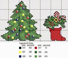 trabalhos manuais, Gráficos, bordados, enfeites de natal, motivos natalinos, toalhas de mesa, trabalhos manuais, Papai Noel, Sinos, Feliz Natal, árvore, monogramas em ponto cruz, Ponto Cruz, vagonite