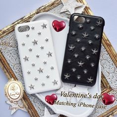 ❤️white&black❤️バレンタインデーに❤️お揃いにしてもカッコ可愛いiPhoneケース⭐️💝💛 https://www.creema.jp/item/3410502/detail  https://www.creema.jp/item/3405095/detail  #お揃いiPhoneケース#MatchingiPhonecase #creemaバレンタイン #バレンタイン #Valentinesgift #iPhoneケース #iPhone6sケース #iphone6plusケース  #iPhone7ケース #iPhone7plusケース #スター  #星  #star #スタッズ #ブラック #black #white #ホワイト #lerynail #レリーネイル  #instagood  #クリーマで販売中  #ミンネで販売中  #おしゃれ  #fashionista  #jimmychoo #ジミーチュー #happy  #贈り物  #誕プレ