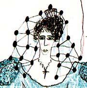 Drawing from Federico García Lorca