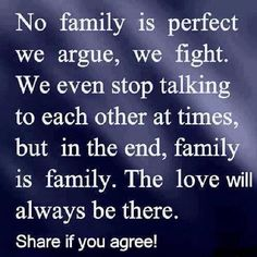 Family is Family!