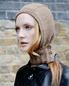 icicle hood knit purl alpaca