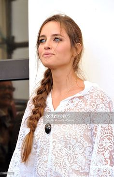 Matilde Gioli attends a photocall for L'Oreal Paris Award For The Cinema during the 73rd Venice Film Festival at Palazzo del Casino on September 7, 2016 in Venice, Italy.