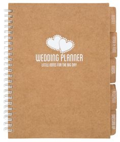 Personally, we're big fans of the planning tools on hitched.co.uk when it comes to wedding planning, but if you are old-school, you'll love this rustic style wedding planner from Poundland, complete with budget, venue and food, guest, reception and dressi